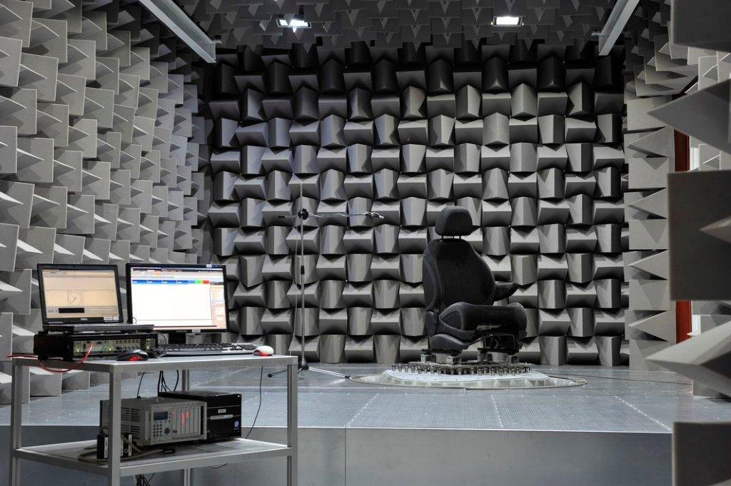Acoustics and vibration test