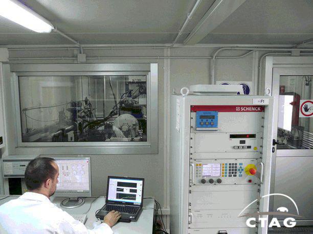 Laboratoire de moteur