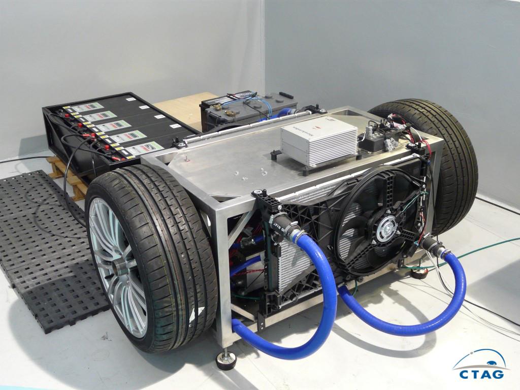 Propulsion electrica