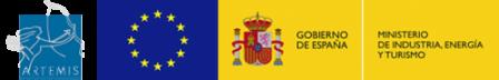 Artemis, Unión Europea y Ministerio de Industria, Energía y Turismo