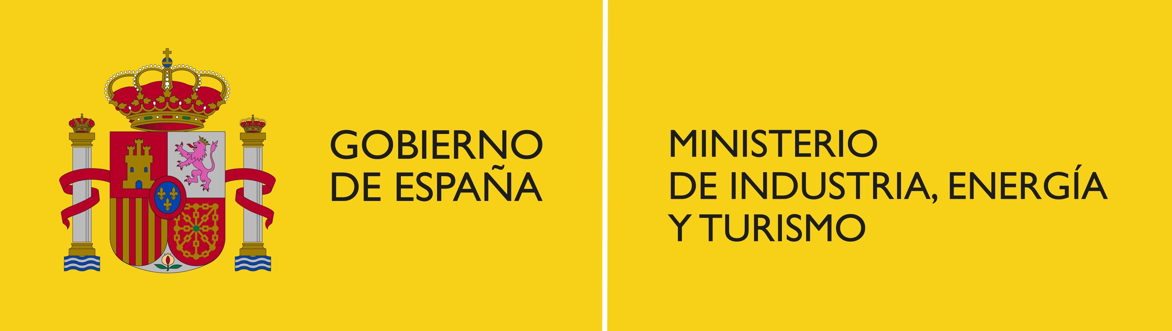 Gobierno de España. Ministerio de Industria, Energía y Turismo