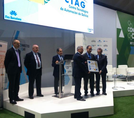 1er Premio otorgado a CTAG en la categoría Car to Car