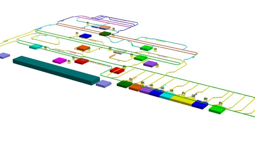 Delmia simulation