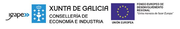 Logos Igape, Xunta de Galicia y Unión Europea