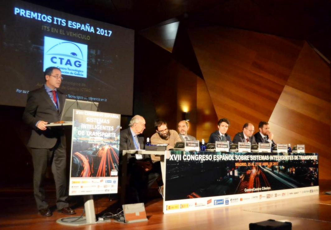 Ponencia de Francisco Sánchez en el XVII Congreso ITS España