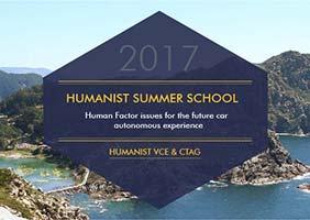 CTAG organise HUMANIST SUMMER SCHOOL, journées de recherche sur le facteur humain dans le véhicule autonome futur.