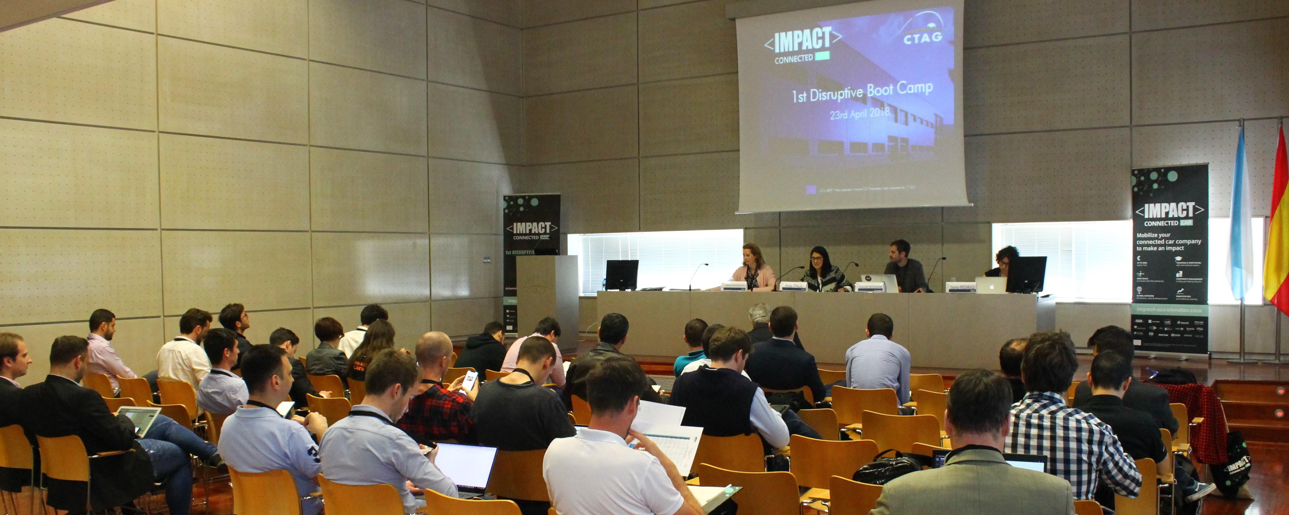Sesión de apertura del Disruptive Bootcamp