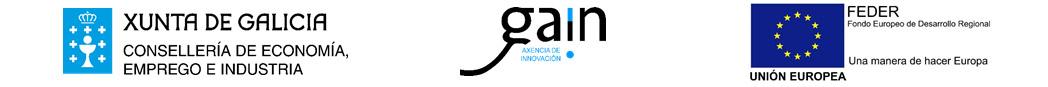 Xunta de Galicia, Gain, Unión Europea FEDER