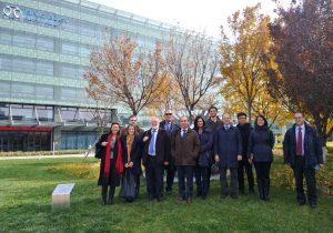 Participantes en la visita a las instalaciones de BAIC en Beijing