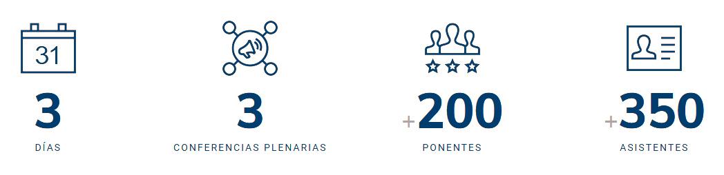 MATCOMP'19 : 3 días, 3 conferencias plenarias, más de 200 ponentes y más de 350 asistentes