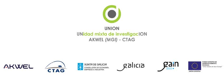 UNION - UNIdad mixta de InvestigacION, AKWEL, CTAG, Xunta de Galicia Consellería de Economía, Emprego e Industria, Galicia