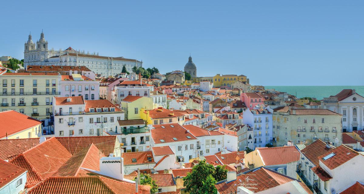 Paisaje, Lisboa.