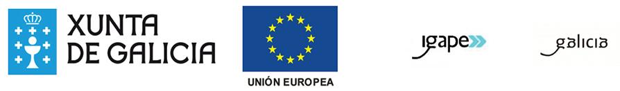 Xunta de Galicia, Unión Europea, IGAPE, Galicia