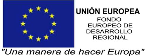 UE FEDER Fondo Europeo de Desarrollo Regional