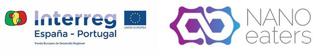 Logotipos: Interreg España-Portugal, NANOEATERS