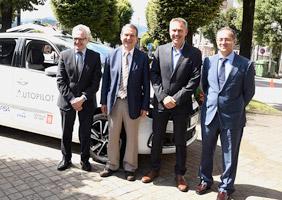 CTAG pilote les tests de conduite autonome en milieu urbain avec Groupe PSA et la mairie de Vigo
