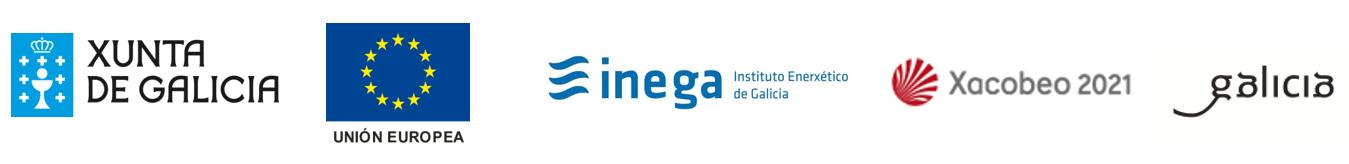 Xunta de Galicia, Unión Europea, INEGA, Xacobeo 2021, Galicia