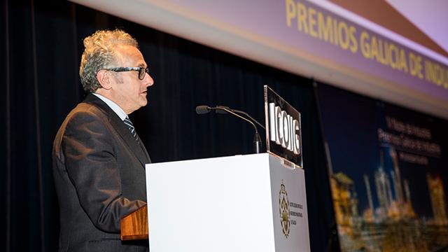 Discurso de Luis Moreno, director general de CTAG, durante la entrega de premios