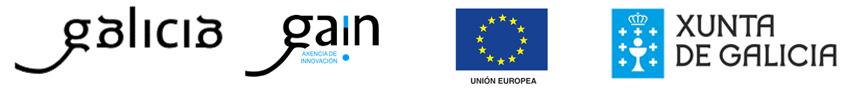 Galicia, Gain Axencia de Innovación, Unión Europea y Xunta de Galicia