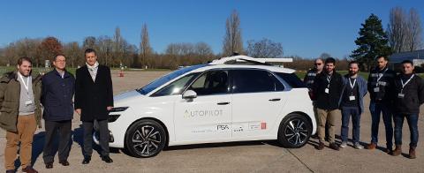 Representación de CTAg que realiza las pruebas de conducción autónoma