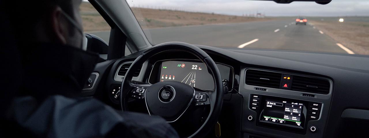 Ensayo en pista de pruebas ITS con vehículo autónomo